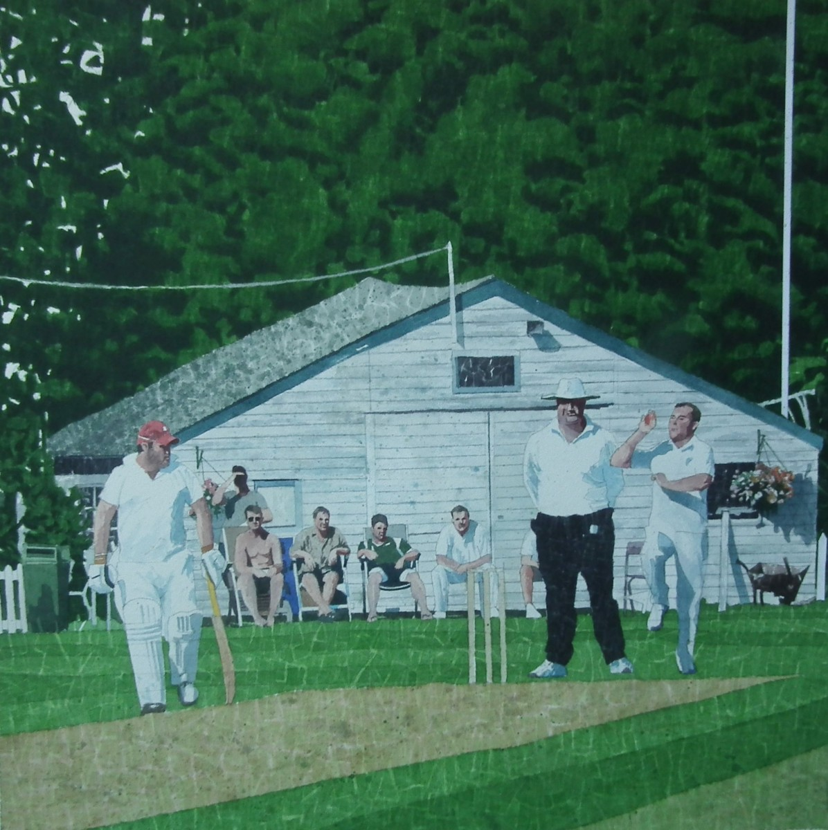 "a village cricket match essay A village cricket match a g macdonald's 'a village cricket match"" is an excerpt from his satirical work – 'england, their england' set against a backdrop of an english village."